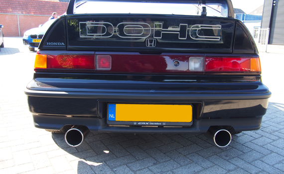Honda CRX 2e generatie (ED9)