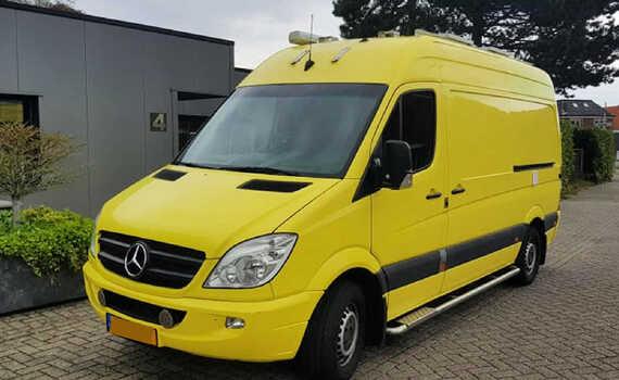 Taxatie zelfbouwcamper Mercedes Benz Sprinter